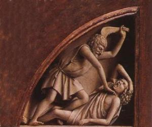 Cain, the firstborn of Adam and Eve, at the time of killing his brother Abel puzzle