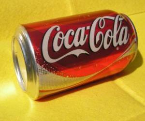 Can of Coca-Cola puzzle