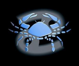 Cancer. The Crab. Fourth sign of the zodiac. The Latin name is Cancer puzzle