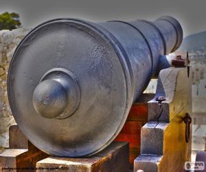 Cannon defense puzzle