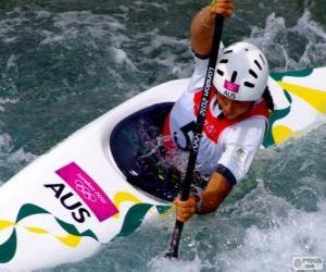 Canoe slalom puzzle