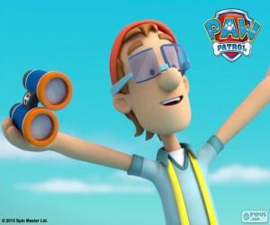 Captain Turbot, PAW Patrol puzzle