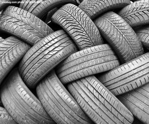 Car Tyres puzzle