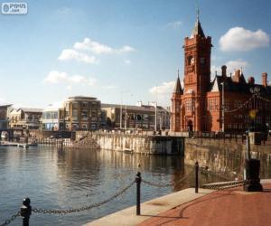 Cardiff, United Kingdom puzzle