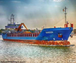 Cargo ship puzzle
