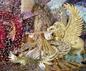 Carnival of Santa Cruz de Tenerife, Spain puzzle