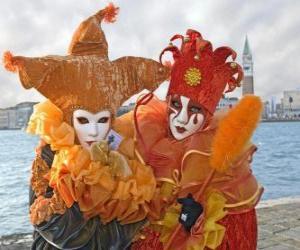 Carnival of Venice puzzle