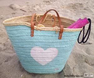 Carrycot for the beach puzzle