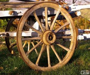 Cart wheel puzzle