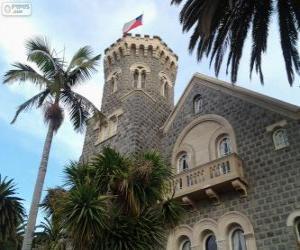 Castle Brunet, Viña del Mar, Chile puzzle