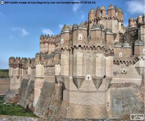 Castle of Coca, Spain puzzle