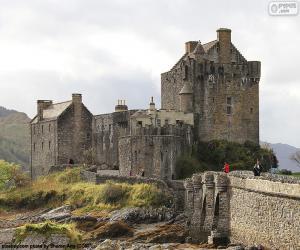 Castle of Eilean Donan, Scotland puzzle