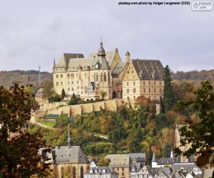 Castle of Marburg, Germany puzzle