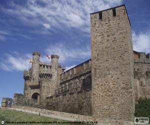 Castle of Ponferrada, Spain puzzle