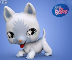 Cat from the Littlest PetShop puzzle