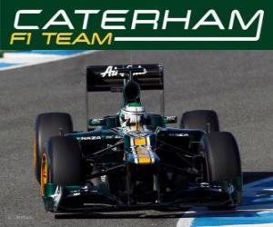Caterham CT01 - 2012 - puzzle