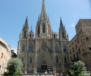 Cathedral of Barcelona puzzle