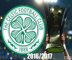 Celtic FC champion 2016-2017 puzzle
