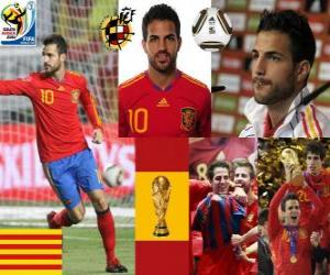 Cesc Fàbregas (Barcelona is the future of) Spanish National Team Midfielder puzzle