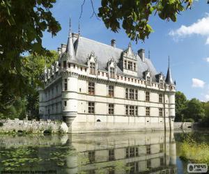Château d'Azay-le-Rideau puzzle