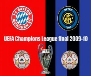 Champions League final 2009-10, FC Bayern Munchen vs FC Internazionale Milano puzzle