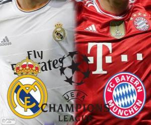 Champions League - UEFA Champions League semi-final 2013-14, Real Madrid - Bayern puzzle