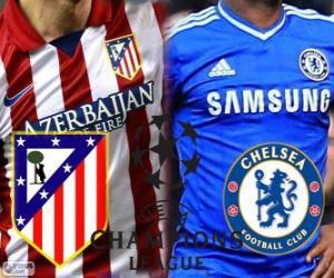 Champions League - UEFA Champions League semifinal 2013-14, Atlético - Chelsea puzzle