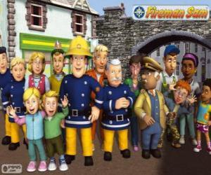 Characters, Fireman Sam puzzle