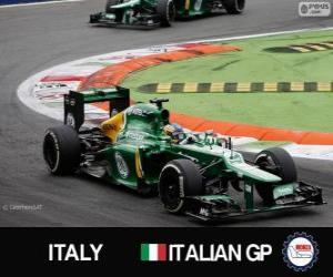 Charles Pic - Caterham - Monza, 2013 puzzle