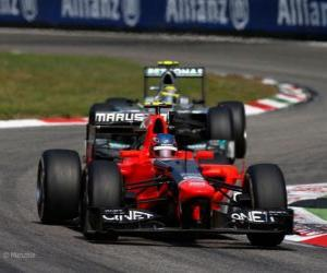 Charles Pic, Marussia 2012 puzzle