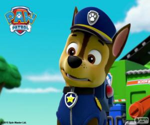 Chase of Paw Patrol puzzle