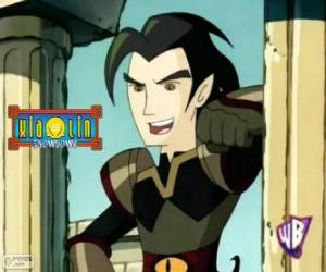 Chase Young, powerful enemy for the Xiaolin warriors puzzle