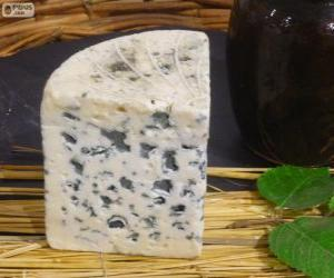 Cheese roquefort (France) puzzle