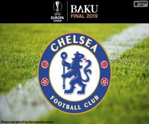 Chelsea, champion Europa League 2019 puzzle