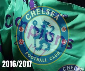 Chelsea FC champion 2016-2017 puzzle