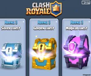Chests, Clash Royale puzzle