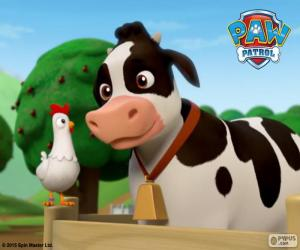 Chickaletta and Bettina, PAW Patrol puzzle