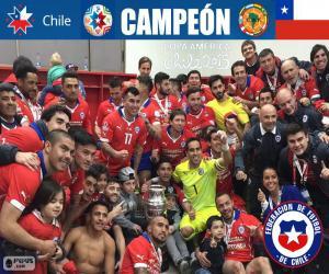 Chile, Copa America 2015 champion puzzle