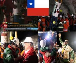 Chilean miners rescue happy ending puzzle