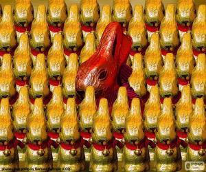 Chocolate rabbits puzzle