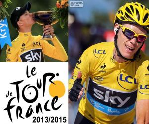 Chris Froome, Tour de France 2015 puzzle