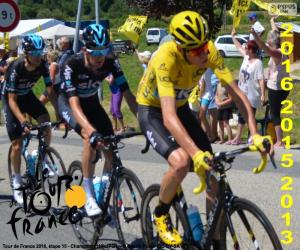 Chris Froome, Tour of France 2016 puzzle