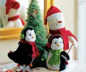 Christmas dolls puzzle
