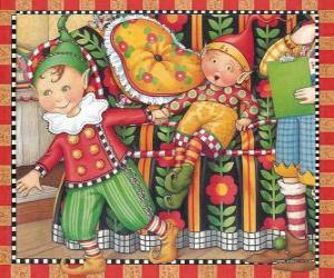 Christmas Elves puzzle