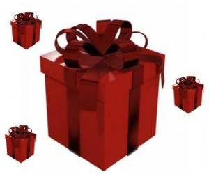 Christmas Gift Boxes puzzle