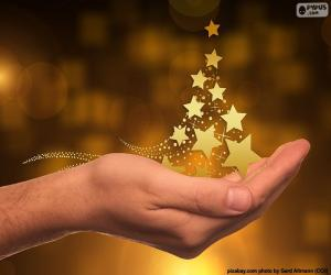 Christmas tree, Stars puzzle