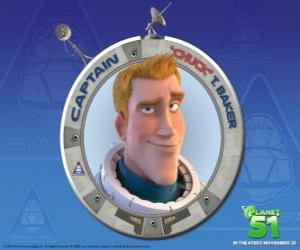 Chuck child dreamed of being an astronaut, he is brave, handsome and sure of himself puzzle