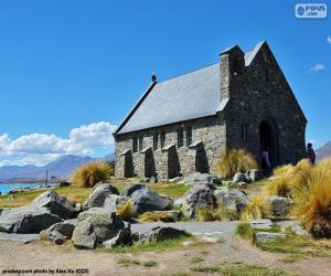 Church of the Good Shepherd, NZ puzzle