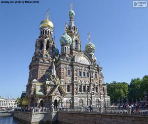 Church of the Savior on Blood, Russia puzzle