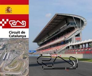 Circuit de Catalunya - Spain - puzzle